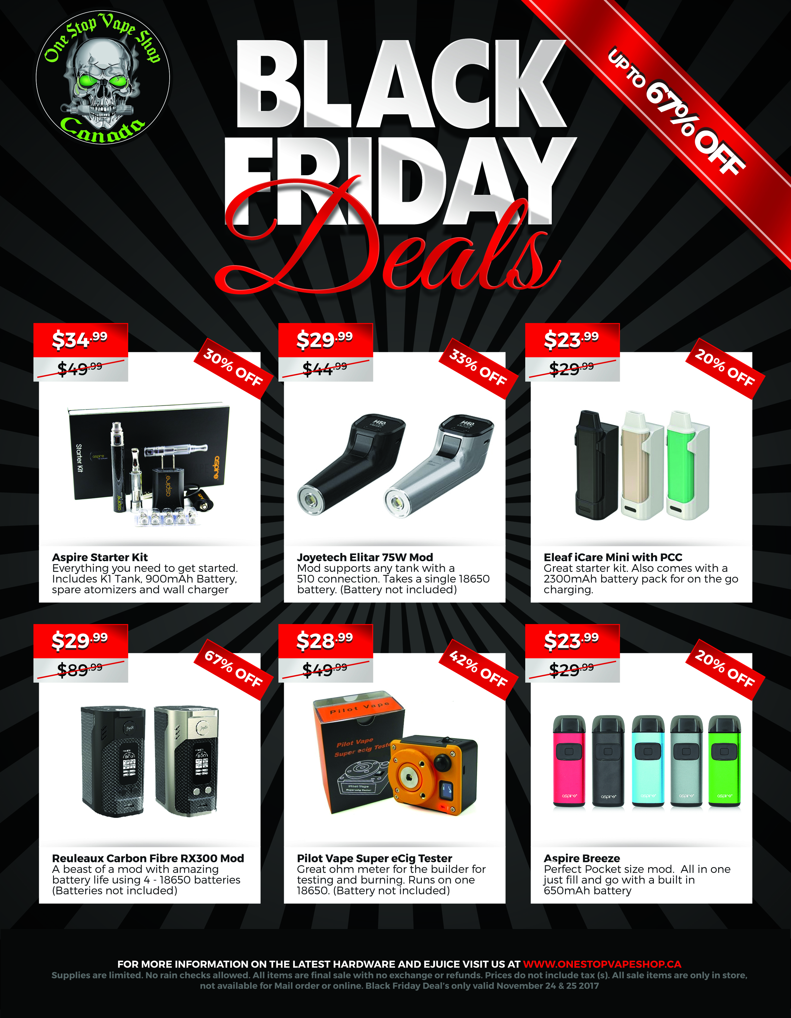 Black Friday Sale Page 1