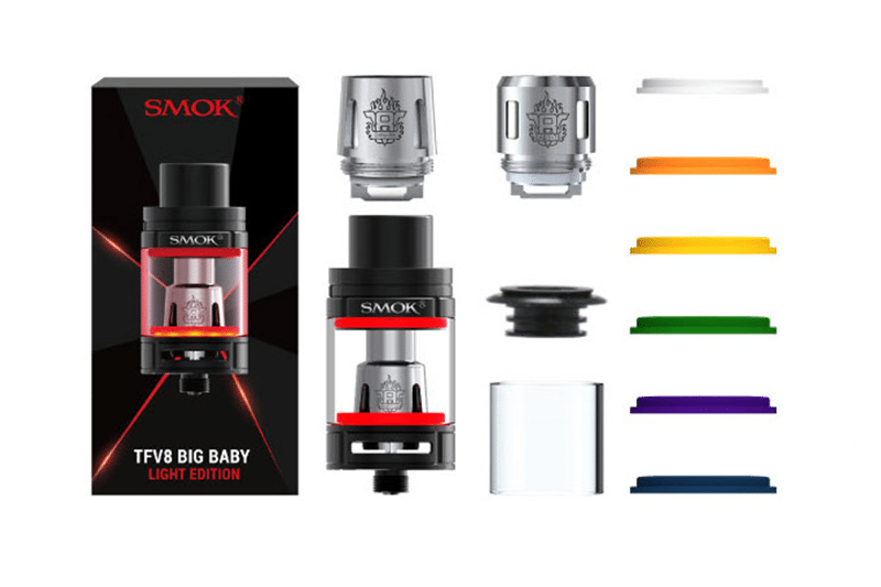 SMOK-TFV8-Big-Baby-Light-tank-kit-content