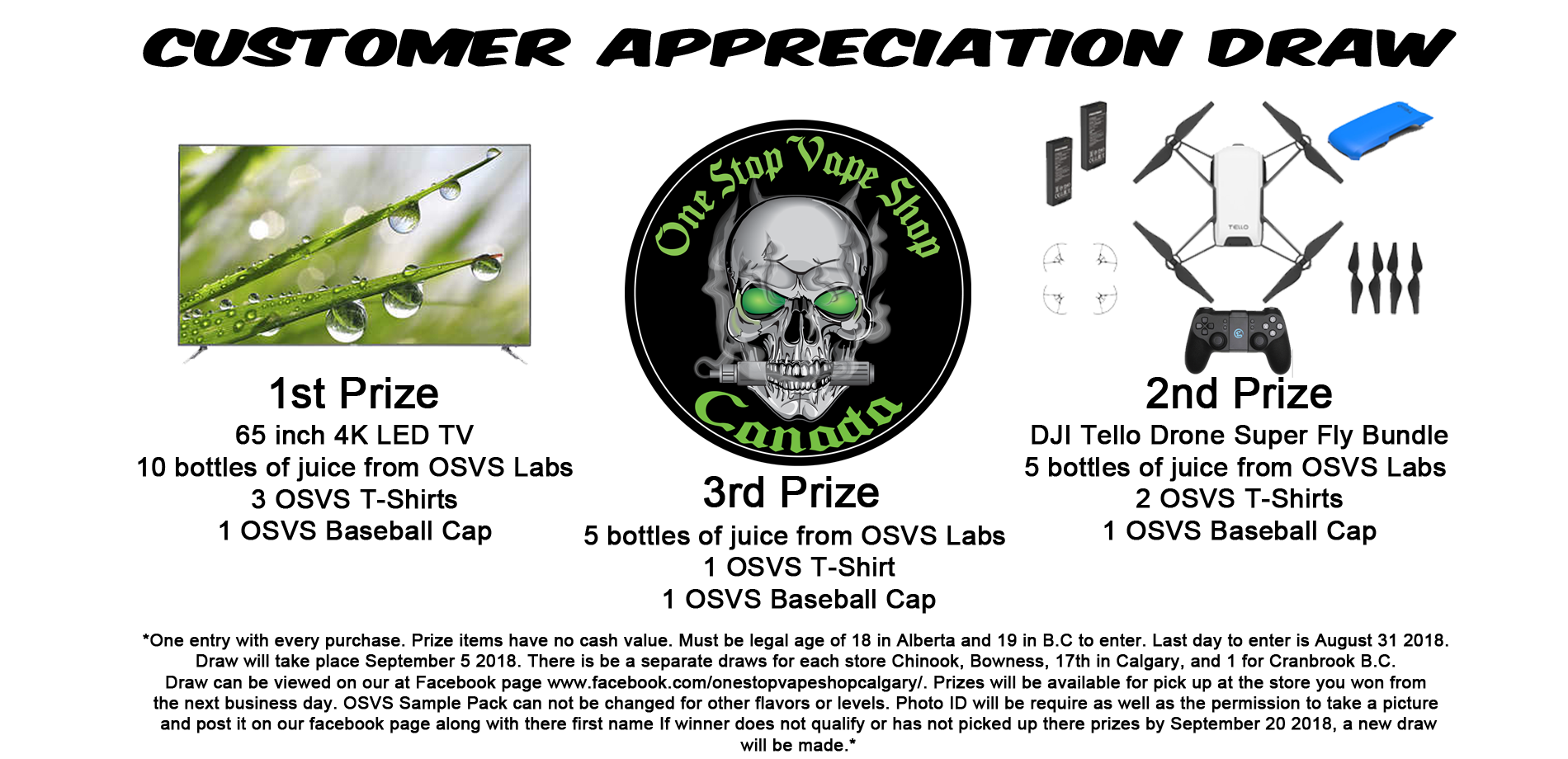 Customer Appreciation Draw